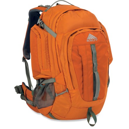 Camp and Hike The comfortable Kelty Redwing 50 pack is a proven workhorse on the trail and around town. It's a rugged and roomy choice for day hiking and urban adventures. - $79.93