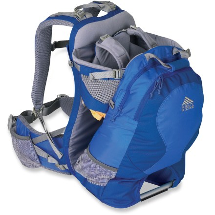 Camp and Hike The Kelty Junction 2.0 child carrier serves double duty as a daypack with plenty of room for the little one and your gear. - $189.95