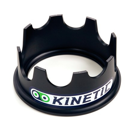Fitness Get a nose up! The Kinetic Riser Ring enables you to have a level ride on your bike trainer. - $29.00
