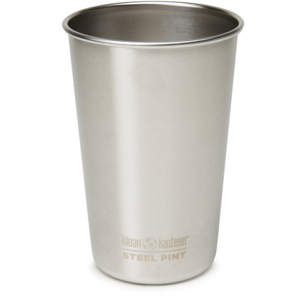 Camp and Hike Get rid of the plastic and pick up a Klean Kanteen Stainless-Steel Pint cup. - $9.95