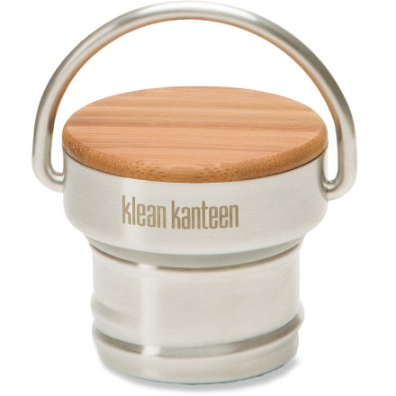 Camp and Hike This Klean Kanteen Bamboo water bottle cap is fashioned from a single piece of 18/8 food-grade stainless steel and finished with attractive bamboo wood. - $7.93