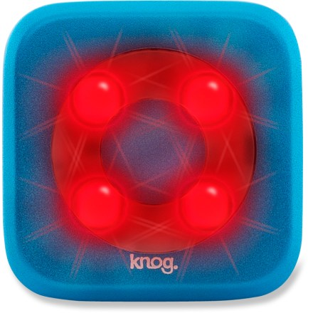 Fitness Bright, waterproof and easy to install, the Knog Blinder 4 rear bike light offers rugged performance for all-weather riding. - $14.93