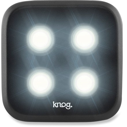 Fitness This Knog Blinder 4 front bike light delivers bright, waterproof performance to alert others to your presence when you're out riding. - $32.93