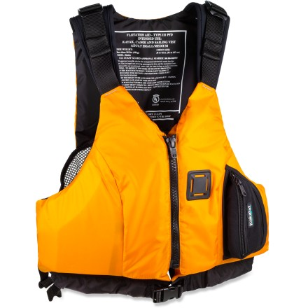 Kayak and Canoe Offering extra comfort in boats with taller seat backrests, Kokatat Bahia minimizes bulk and maximizes airflow for comfort on all-day paddles. - $69.93