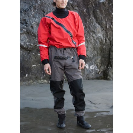 Kayak and Canoe The lightweight Gore-Tex(R) paddling suit from Kokatat supplies splash protection for kayakers who want more comfort than neoprene wetsuits can provide. - $779.00
