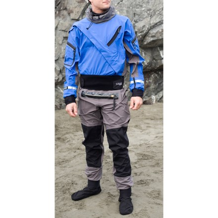 Kayak and Canoe The men's Kokatat Gore-Tex(R) Expedition dry suit lets you paddle where others can't. - $799.83