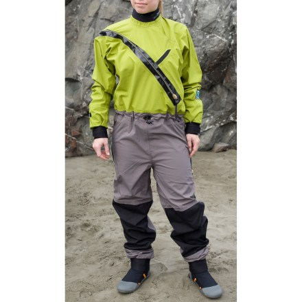 Kayak and Canoe Designed for the adventurous paddler, the women's Kokatat Gore-Tex(R) Front Entry dry suit with drop seat offers more comfort than neoprene wetsuits can provide. - $678.83