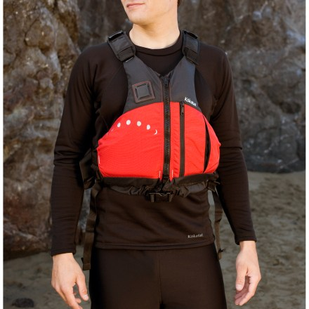 Kayak and Canoe Designed for recreational kayaking, the Aries PFD from Kokatat offers a great balance of safety, freedom of movement and breathability. - $68.93