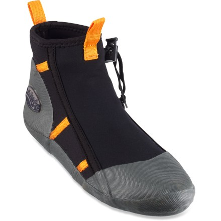 Kayak and Canoe Use the Kokatat Seeker paddling booties to keep your feet warm and protected. - $65.00