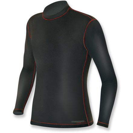 The Komperdell BC-Flex Long Underwear top is the perfect base layer for cold-weather play. Polyester/viscose/elastane blend fabric retains heat while moving moisture away from the skin. Flatlock seams offer flexibility and comfort. Closeout. - $58.93