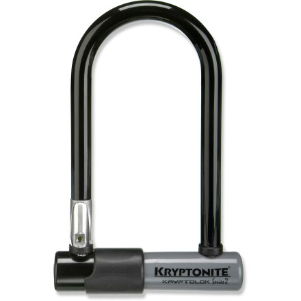 Fitness This Kryptonite KryptoLok Series-2 Mini-7 U-lock delivers high security in a compact design, helping keep your bike protected. - $42.95