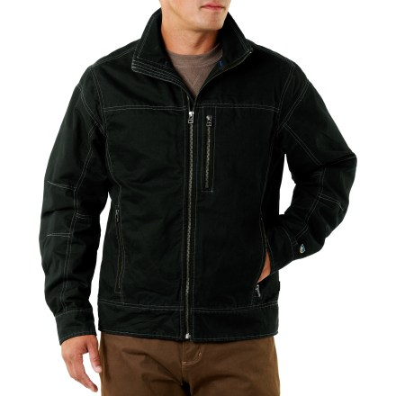 For those days you don't spend in the mountains, there's the rugged yet casual Kuhl Burr jacket. - $54.83
