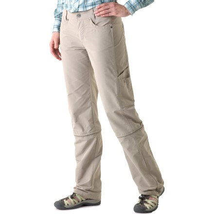 Camp and Hike The Bandita Convertible pants from Kuhl offer you 3 options in 1 for supreme packing convenience. They're pants, they're capris and they're shorts! - $21.83