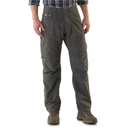 Camp and Hike The weather can change quickly when you're in the mountains. With the Kuhl Liberator convertible pants you can adapt to changing conditions and stay comfortable. - $46.83