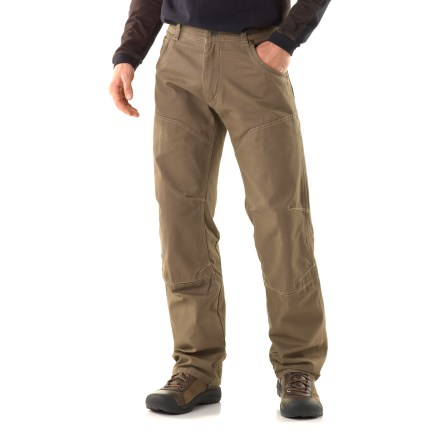 The Law pants from Kuhl don't mess around when it comes to comfort and durability. Constructed using heavy-duty yet soft cotton, these pants will give you years of dependable wear. - $43.83