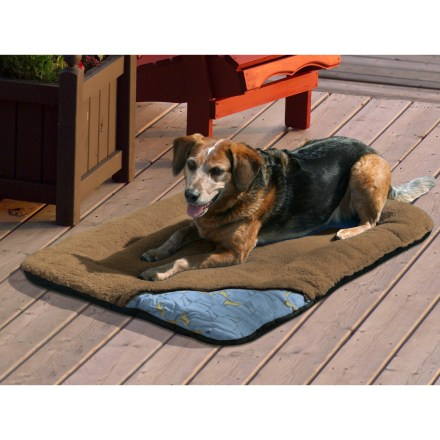 Camp and Hike The super soft Wander dog bed from Kurgo offers a comfortable home away from home for your 4-legged travel companion. - $31.93