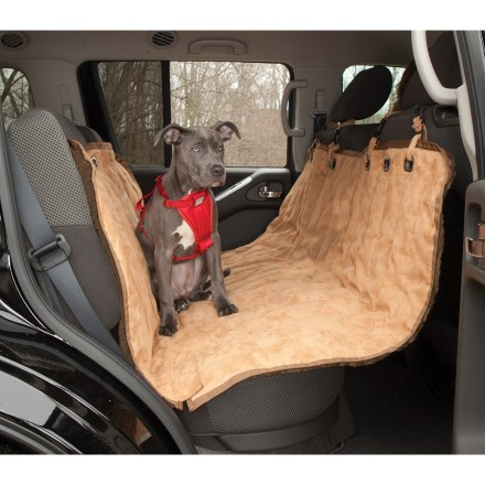 Camp and Hike The waterproof Kurgo Stowe hammock seat protector helps shield the front and back of your car seats from slobber, footprints and hair while giving your dog a comfy place to rest during a ride. - $74.93