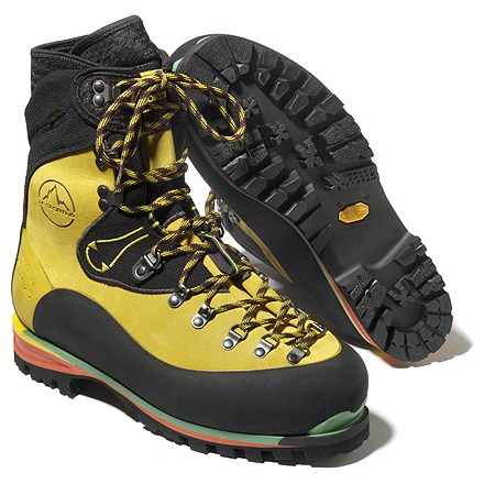 Entertainment A pinnacle of mountaineering footwear! Light, warm, Nepal EVO Gore-Tex boots by La Sportiva are the choice for serious climbs. - $510.00