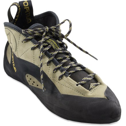 Climbing Designed for edging and crack climbing, the La Sportiva TC Pro rock shoes get you through sections of smearing on dime edges and jamming your feet in finger cracks. - $180.00