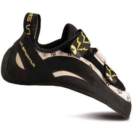 Climbing Pull on the La Sportiva Muira VS rock shoes, cinch the hook-and-loop straps and start up a steep climb with great control. The shoes excel when you're edging or sticking your toes in tiny pockets. - $170.00