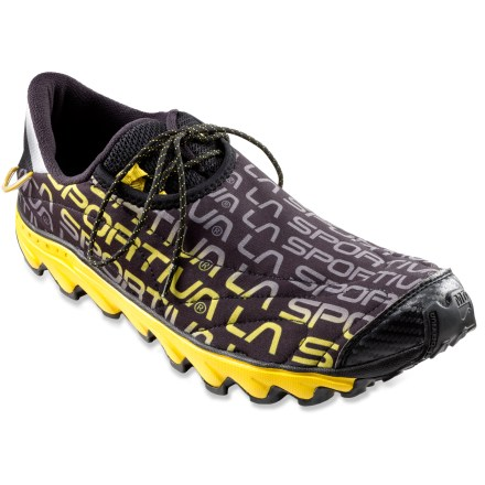 Fitness Come race day, these La Sportiva Vertical K trail-running shoes will offer you featherweight, responsive performance that rides close to the ground without compromising cushioning. - $56.83