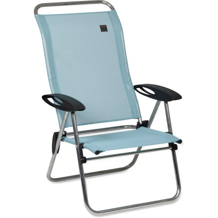 Camp and Hike With 5 different reclining positions, this car-camping chair ensures you're comfortable while lounging at the campsite or on the back deck. - $69.93