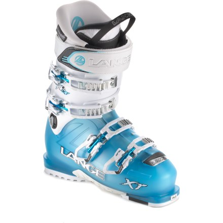 Ski Earn your turns in the women's Lange XT 90 W ski boots, and enjoy high performance on the way down. - $199.83