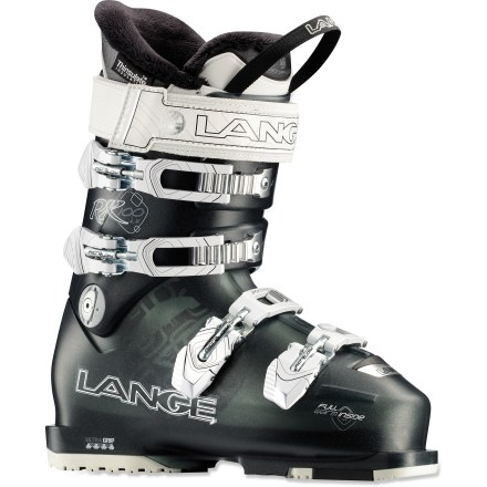 Ski Built from the ground up to match your anatomy and skiing style, the women's Lange Exclusive RX 100 LV ski boots offer an expert fit for low-volume feet. - $329.83