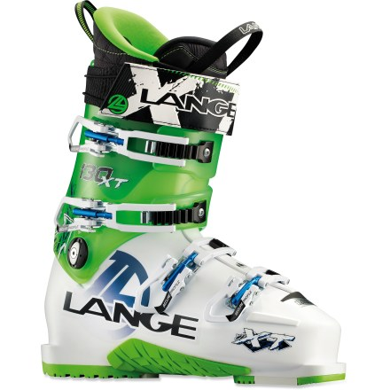 Ski Hike up a sidecountry ridge for your turns in the Lange XT 130 ski boots, then lock 'em down and ski as hard as you like. - $279.93