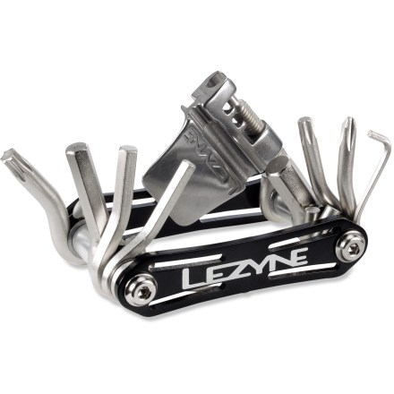 Fitness The RAP 13 from LEZYNE is great for stashing in your jersey pocket or seat bag, and has everything you might need to make quick adjustments on the ride. - $16.93