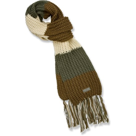 Ski The Life is good(R) Winter Bliss scarf goes on easy and offers soft warmth. Cozy acrylic keeps you warm without being itchy or uncomfortable. Closeout. - $13.83