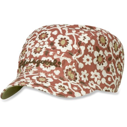 Add some flair to your weekend attire with the Life is good(R) Good Karma(TM) Organic Mini cap. Made from organic cotton for breathable comfort and easy care. Organic cotton is grown without the use of toxic pesticides. Good Karma Organic Mini cap has been heavily washed for added softness. Closeout. - $11.83