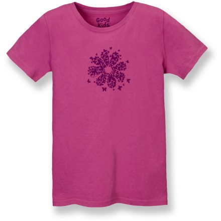 "The Life is good(R) Creamy T-shirt offers superior comfort. Made from ""creamy"" sueded cotton that is garment-washed for pleasing softness from the first wearing. Semifitted design. Closeout. - $12.73"
