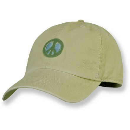 Entertainment The Life is good(R) Chill cap keeps them covered on bright, sunny days. Made with soft, prewashed cotton, the Chill cap is extremely comfortable and requires little to no break-in time. Rear strap with rip-and-stick closure adjusts the fit. Closeout. - $5.83