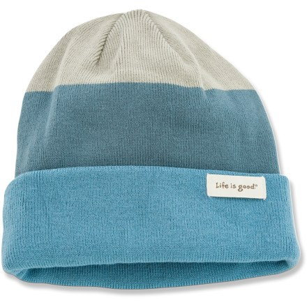 Ski The Life is good(R) Old School Knit hat offers warmth and comfort in a traditional design. Cozy acrylic keeps you warm without being itchy or uncomfortable. Closeout. - $8.83