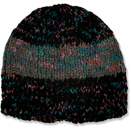 Ski The Life is good(R) Good Vibes(TM) Marled hat goes on easy for all-day warmth. Cozy acrylic keeps you warm without being itchy or uncomfortable. Closeout. - $11.83