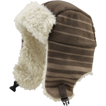 Entertainment The Life is good(R) Elmer Fuzz hat covers your cranium in cozy comfort while you're sledding or chasing wabbits. Acrylic/wool blend exterior is breathable and warm. Soft, faux fur lines the interior and earflaps. - $12.93