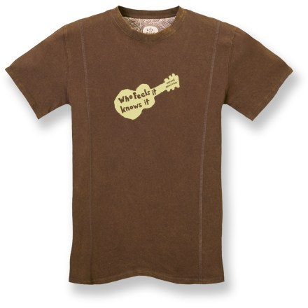 The Life is good(R) Fade Out T-shirt offers a weathered look that's sure to please. Cotton fabric is naturally soft and breathable. Decorative coverstitch details. Slim fit. Closeout. - $13.83