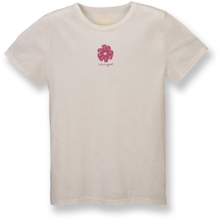 The Life is good(R) Sleep T-shirt is a dream to wear! Choose this shirt and experience the ultimate comfort. Garment-washed cotton jersey fabric is brushed for a buttery-soft hand. Closeout. - $7.83