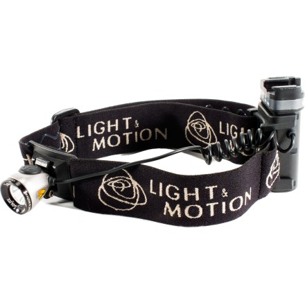 Camp and Hike Use the modular Light & Motion Solite 100 as a headlamp, flashlight, lantern or bike light to illuminate all your nighttime adventures. - $59.83