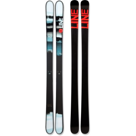 Ski Offering a light feel underfoot, the all-purpose Line Prophet Flite skis are built to explore the entire mountain. - $179.83