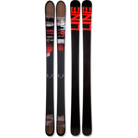 Ski Line Prophet 98 skis bring stability, ease and a touch of attitude to your mountain. - $259.83
