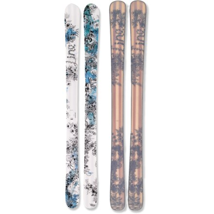 Ski The fabulous Line Celebrity 90 skis offer a lively, fun feel that you'll love to ski all season, and their rockered tips boost comfort and control. - $199.83