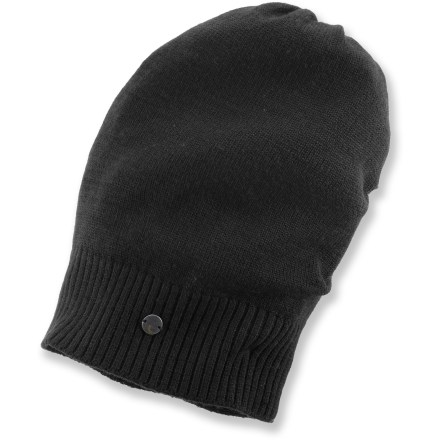 Entertainment Refresh your look with the stylish Lole Jersey Slouch hat. Jersey-knit merino wool/acrylic blend has a soft hand. - $11.83