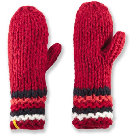 Add some cheer to a cold winter day with the Lole Chunky mittens. - $7.83