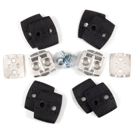 Fitness Use these Look Quartz mountain bike cleats as replacement cleats for the Look Quartz pedals. - $14.93