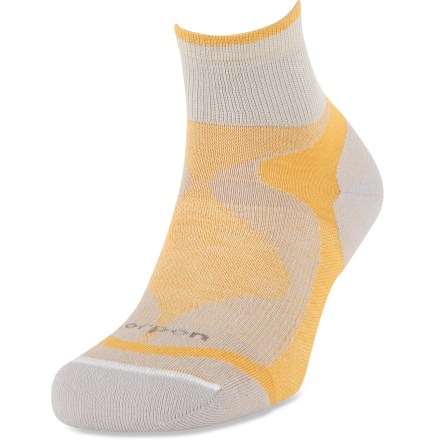 Fitness The Lorpen Tri-Layer Light socks are the perfect choice for warm-weather activities. Tencel/Coolmax(R) blend fabric offers moisture-wicking performance; touch of spandex offers a perfect fit. Partial cushioning for comfort. Closeout. - $5.73