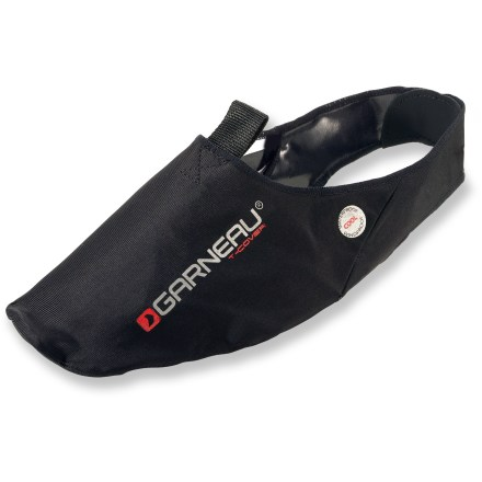Fitness In between full shoe covers and toe covers, the Louis Garneau T-Cover provides middle-of-the-road coverage for your bike shoes. - $13.93