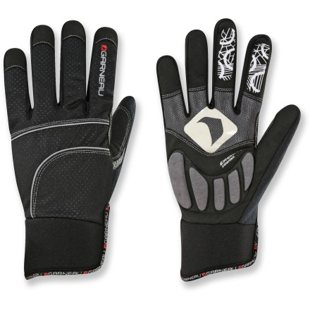 Fitness Designed for racing, the Louis Garneau Roubaix men's bike gloves provide warmth in extreme conditions. - $23.93