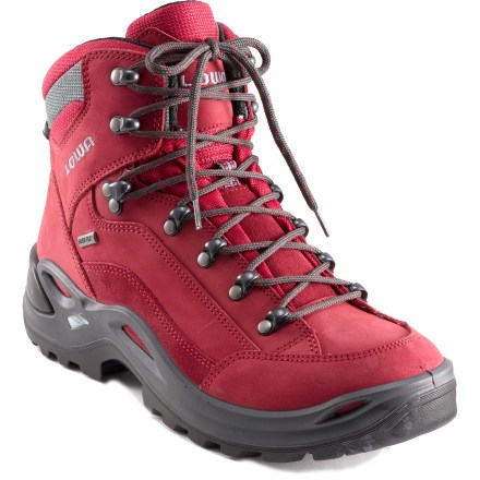 Camp and Hike Winner of the 2014 OudoorGearLab Editors' Choice award, these women's hiking boots provide waterproof protection and excellent support at a low weight for weekend backpacking trips or long day hikes. - $230.00